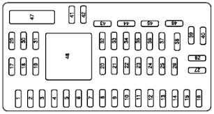 mercury cougar fuse box diagram image 1999 mercury cougar headlight wiring diagram wiring diagram and on 2000 mercury cougar fuse box diagram