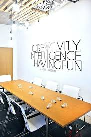 wall art for office. Modern Office Art Wall Decal Large Quote By . For