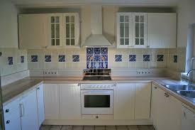 alfa img showing pea wall tile kitchen backsplash cobalt blue