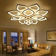 new acrylic modern led ceiling chandelier lights for living room bedroom home dec led modern fixture