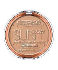 Catrice Sun Glow <b>Матовая Бронзирующая Пудра для</b> Лица 030 ...