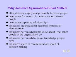 Ppt Why Does The Organizational Chart Matter Powerpoint