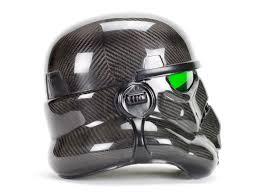 the must see custom made carbon fiber stormtrooper helmet