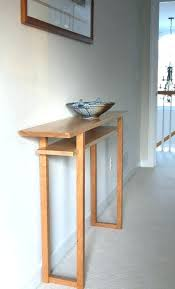 small narrow console table narrow console table hall table mid century modern wood furniture tiger maple small narrow console table impressive small hall