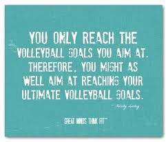 Volleyball Quotes Mesmerizing Volleyball Inspirational Quotes Formidable Inspirational Volleyball