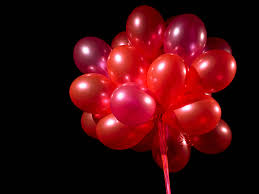 party balloons valentines day special 50 red and 50 white latex balloons 150 00