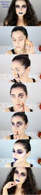 makeup tutorials for scary yet fairy look