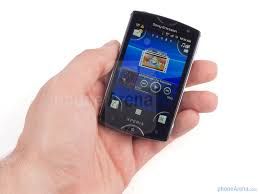 sony ericsson xperia. the sony ericsson xperia mini is designed to be stylish and compact - image from review s