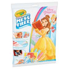 Crayola Color Wonder Mess Free Coloring Pages Disney Princess
