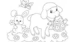 Disegni Di Pasqua Animali Da Stampare