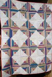 Judy's Journal: quilt as you go & Log cabin (above) was also made in 1987. (quilt as you go method) Adamdwight.com