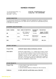 Resume Format For Freshers Free Download Now Sample And In Word