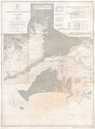 Details About 1906 U S C S Nautical Chart Of Vineyard Sound And Buzzards Bay Massachusetts