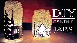 Decorate Jar Candles DIY Christmas Decorations Gifts Christmas In A Jar YouTube 39