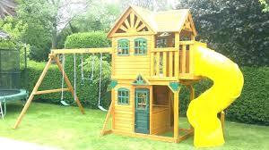 home depot playset wooden outdoor good wood wooden kitchen home depot swing set all cedar with