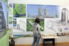 Выставка дипломных проектов студентов АСИ  города Ниш Сербия а также олимпийского Сочи С интересом посетители выставки знакомились с макетами индивидуальных и многоэтажных жилых домов