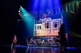 Review Cirque Du Soleils High Flying Death Defying Volta