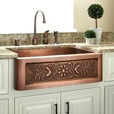 hammered copper farmhouse sink. Farm Sinks For Kitchens Hammered Copper Sink Farmhouse