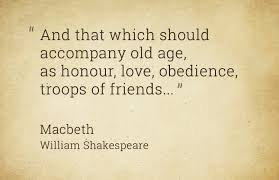 Quotes About Age Beauteous Shakespeare Quotes On Aging