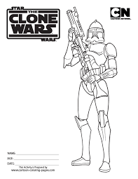 Star Wars Clone Wars Coloring Pages Getcoloringpagescom