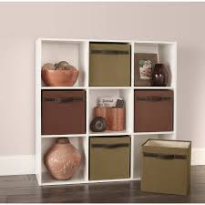 shelves stackable display closetmaid cubeicals 9 cube organizer white new 7426805865461
