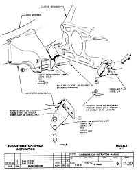 Engine rear mounting sheet 11 00