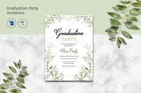Party City Graduation Invitations Inspirational Print