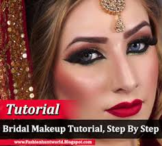 south asian bridal makeup tutorial step by step