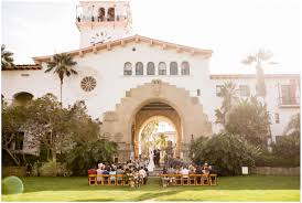 they got married at the santa barbara courthouse and had their wedding reception at a new wedding venue villa vine in downtown santa barbara