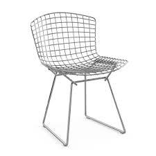 knoll bertoia chair chrome plated