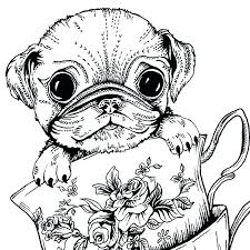 coloring pages of pugs pug coloring pages pug coloring pages pug coloring teacup pug greeting card coloring pages of pugs