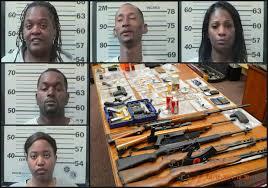 Search warrant reveals possibly stolen property; five arrested - al.com