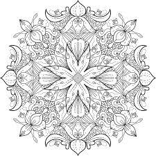 Mandala Coloring Pages Printable Free Free Mandalas Hobbit Mandala