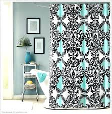 black and white shower curtain target teal shower curtain love the black white and target