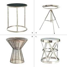 round metal end tables elegant small accent table all graphics aluminium and chairs