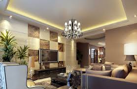 Living Room Tv Wall Unit And Lighting Download 3d House Inside