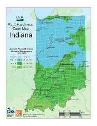 Usda Hardiness Zone Map Rates Indiana Warmer Hoosier Gardener