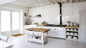 4 tags Cottage Kitchen with Pendant Light, Glass panel door, Reinhard  double-bowl fireclay farmhouse