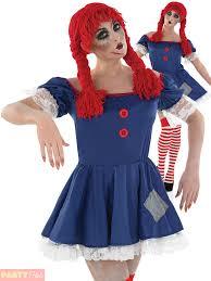 las zombie rag doll costume stockings fancy