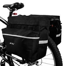Bv Bike Bag Bicycle Panniers With Adjustable Hooks