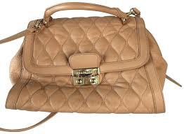 vera bradley leather purses satchel in tan small purse