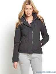 yh166583 superdry pop zip hooded arctic windcheater women s jackets winter coats