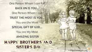 Best Brother And Sister's Day Wishes Images Pictures And Photos 40 Stunning Picture For Brother Sister
