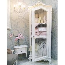 Provencal Bedroom Furniture Provencal Wire Fronted Demi Armoire French Bedrooms Armoires