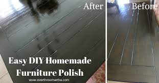 easy diy homemade furniture polish diycleaning yleo greencleaning