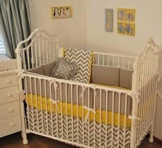 yellow and grey chevron baby bedding designs gray nursery grey crib bedding