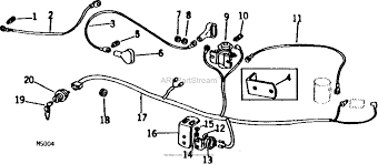 john deere parts diagrams, john deere 60 lawn tractor pc1007 wiring john deere 60 ignition switch wiring diagram john deere parts diagrams john deere wiring harness & electrical