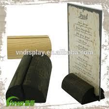 Wooden Menu Display Stands Handmade Creative Menu Holders Reataurant Menu DisplayStand Menu 14