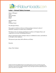 request for salary increase template salary increment letter format by employer copy 5 template letter