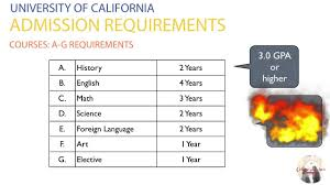 university of california admission requirements university of california admission requirements